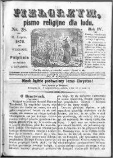 Pielgrzym, pismo religijne dla ludu 1872 nr 28
