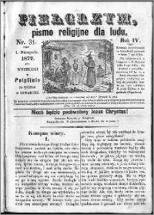 Pielgrzym, pismo religijne dla ludu 1872 nr 31
