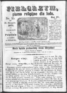Pielgrzym, pismo religijne dla ludu 1872 nr 35