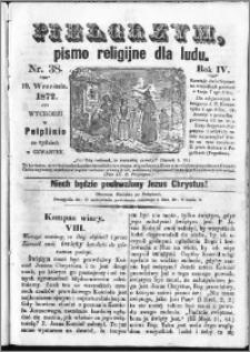 Pielgrzym, pismo religijne dla ludu 1872 nr 38