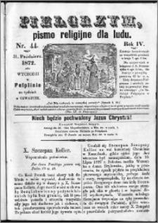 Pielgrzym, pismo religijne dla ludu 1872 nr 44