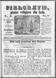 Pielgrzym, pismo religijne dla ludu 1872 nr 46