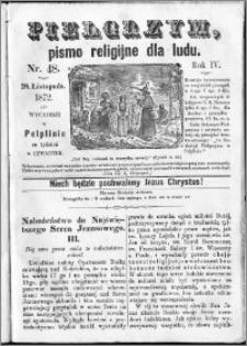 Pielgrzym, pismo religijne dla ludu 1872 nr 47