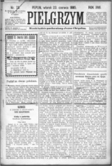 Pielgrzym, pismo religijne dla ludu 1885 nr 73