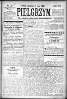 Pielgrzym, pismo religijne dla ludu 1885 nr 77