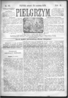 Pielgrzym, pismo religijne dla ludu 1879 nr 48