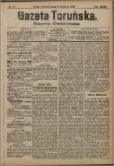 Gazeta Toruńska 1909, R. 45 nr 77