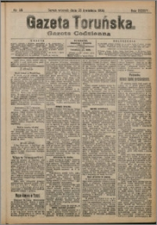 Gazeta Toruńska 1909, R. 45 nr 88