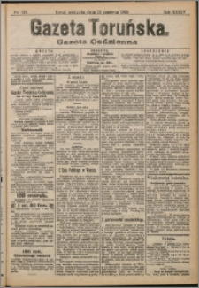 Gazeta Toruńska 1909, R. 45 nr 138 + dodatek