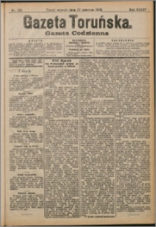 Gazeta Toruńska 1909, R. 45 nr 139