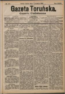 pGazeta Toruńska 1909, R. 45 nr 204