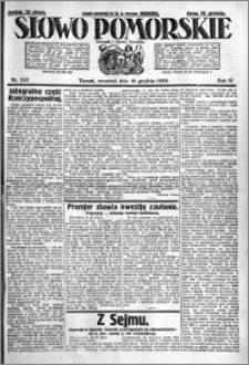 Słowo Pomorskie 1924.12.18 R.4 nr 293