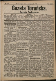 Gazeta Toruńska 1909, R. 45 nr 225