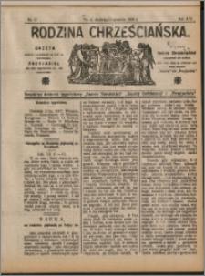 Rodzina Chrześcijańska 1909 nr 37