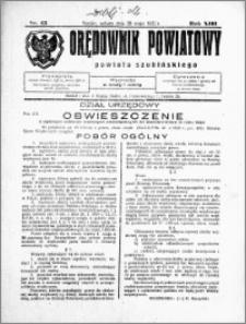 Orędownik Powiatowy powiatu Szubińskiego 1932.05.28 R.13 nr 43