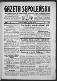 Gazeta Sępoleńska 1933, R. 7, nr 129