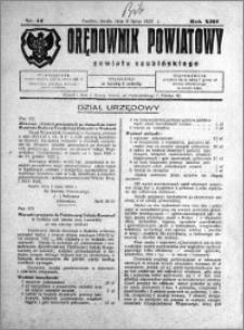 Orędownik Powiatowy powiatu Szubińskiego 1932.07.06 R.13 nr 54