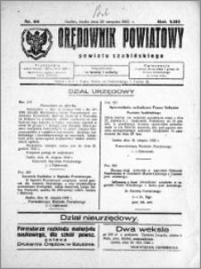 Orędownik Powiatowy powiatu Szubińskiego 1932.08.24 R.13 nr 68