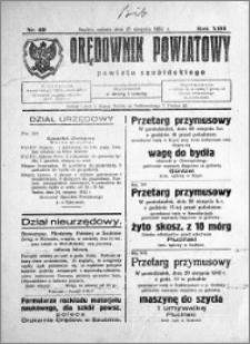 Orędownik Powiatowy powiatu Szubińskiego 1932.08.27 R.13 nr 69