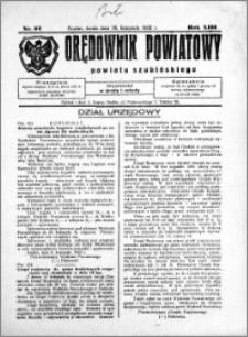Orędownik Powiatowy powiatu Szubińskiego 1932.11.16 R.13 nr 92