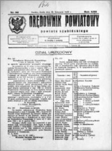 Orędownik Powiatowy powiatu Szubińskiego 1932.11.30 R.13 nr 96