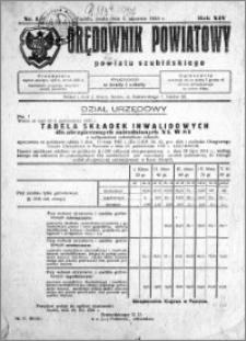 Orędownik Powiatowy powiatu Szubińskiego 1933.01.04 R.14 nr 1