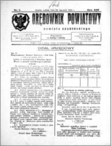 Orędownik Powiatowy powiatu Szubińskiego 1933.01.28 R.14 nr 8
