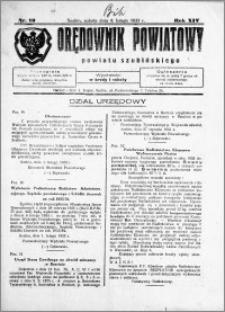 Orędownik Powiatowy powiatu Szubińskiego 1933.02.04 R.14 nr 10
