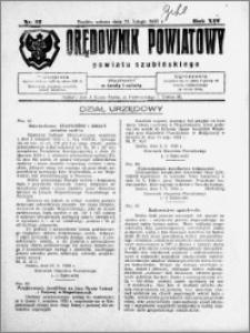 Orędownik Powiatowy powiatu Szubińskiego 1933.02.11 R.14 nr 12