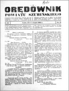 Orędownik powiatu Szubińskiego 1933.08.02 R.14 nr 61