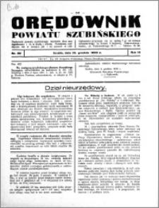 Orędownik powiatu Szubińskiego 1933.12.13 R.14 nr 99