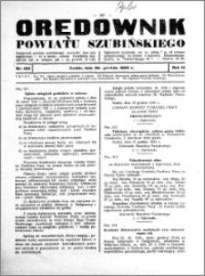 Orędownik powiatu Szubińskiego 1933.12.30 R.14 nr 103