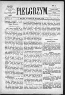Pielgrzym, pismo religijne dla ludu 1876 nr 4