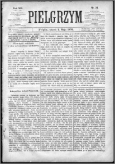 Pielgrzym, pismo religijne dla ludu 1876 nr 34