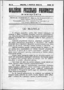 Wileński Przegląd Prawniczy 1935, R.6 nr 3