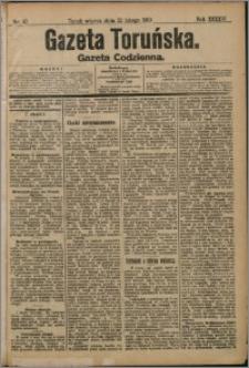 Gazeta Toruńska 1910, R. 46 nr 42 + dodatek