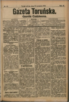 Gazeta Toruńska 1910, R. 46 nr 92