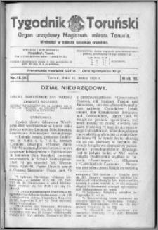 Tygodnik Toruński 1925, R. 2, nr 11
