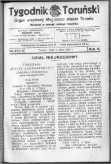 Tygodnik Toruński 1925, R. 2, nr 27