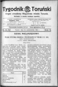 Tygodnik Toruński 1925, R. 2, nr 41