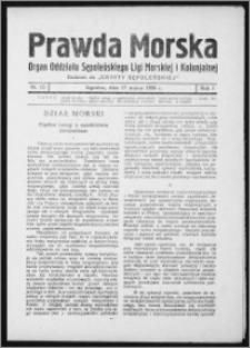 Prawda Morska 1934, R. 1, nr 12