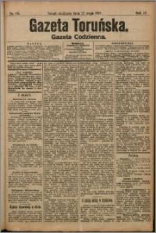 Gazeta Toruńska 1910, R. 46 nr 115 + dodatek