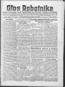 Głos Robotnika 1922, R. 3 nr 130