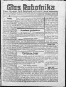 Głos Robotnika 1922, R. 3 nr 135