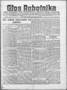 Głos Robotnika 1922, R. 3 nr 176