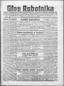 Głos Robotnika 1922, R. 3 nr 178