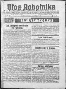 Głos Robotnika 1922, R. 3 nr 199