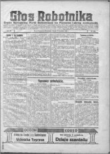 Głos Robotnika 1922, R. 3 nr 203
