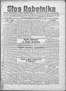 Głos Robotnika 1922, R. 3 nr 204