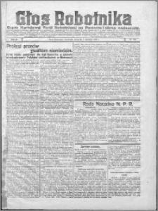 Głos Robotnika 1922, R. 3 nr 205